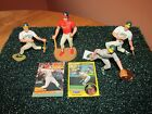 Starting Lineup open/loose lot of four great Mark McGwire pieces (89,90,91