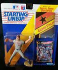 1992 STARTING LINEUP CHUCK FINLEY CALIFORNIA ANGELS Sealed Kenner Poster Card