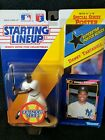 DANNY TARTABULL 1992 STARTING LINEUP NY YANKEES + CARD & POSTER Kenner SEALED
