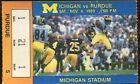 Ticket College Football Michigan 1989 11 4 Purdue