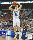 """Jimmer Fredette Signed 8x10 """"2011 NCAA Player of the Year"""" FREDETTE COA #5/32 LE"""