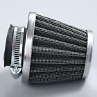 35mm Motorcycl Engine Inlet Double Layer Steel Mesh Air Filter Cleaner Universal