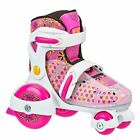 First Roller Skates Girls Sports Equipment For Kids Adjustable Size Small 7 11