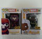 Funko POP Marvel: X-Men - Magneto and Storm Action Figure Hot topic exclusive