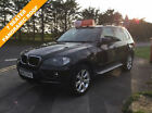 BMW X5 30d auto 2007 SE BLACK 7 SEATER 4X4 AUTOMATIC CAR FINANCE