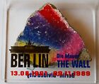 Big High Authentic Piece Berlin Wall with Display Authentic Piece from Berlin