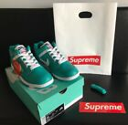 A+Brand New Supreme Nike AF 2 Size 10 Teal color athletic shoes sneakers