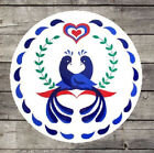 24 New Zooks PA Dutch Friendship Love Marriage Hex Sign Made in the USA