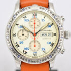 Auth LONGINES L2.618.4 Lindbergh Chronograph Automatic Men's Watch o#8623