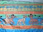 VTG Vintage Disney 1990s The Lion King II Simbas Pride Twin Fitted Sheet W3
