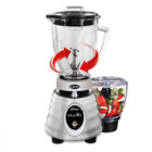 Oster Heritage Whirlwind Blender with Glass Jar and Bonus Food Processor Attachm