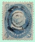 63 Early US Stamp Fancy Cancel Faults
