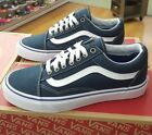 VANS OLD SKOOL VN0004OJJPV MIDNIGHT NAVY WHITE MEN US SZ 45