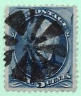 178 Early US Stamp Fancy Cancel