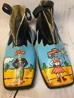 irregular choice Shoes Cowgirl Cowboy Painted Sz 405 Boots
