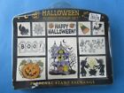 PSX HALLOWEEN Rubber Stamp Set FOAM MTD Haunted House WITCHES BREW Skeleton CAT