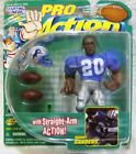 Starting Lineup Pro Action Detroit Lions Barry Sanders #20 Figure with Straig...