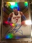 #04 10 carmelo anthony on card auto 15-16 certified competitors knicks rare!