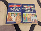 Childhood of Famous Americans Books Lot of 2 Paperback