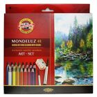 Mondeluz Aquarell Watercolor Pencils Koh-i-noor 24 36 48 72 Colors Art Supply