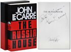 John Le Carre THE RUSSIA HOUSE BC ED SIGNED BY LE CARRE SEAN CONNERY