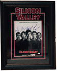 Silicon Valley Cast Signed Autographed 8x10 Photo Framed JSA