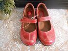 Montana Leather Red BAYLOR Mary Jane size 65M