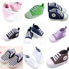 Soft Crib Canvas Sneaker Shoes For Newborn Baby Boy Girl