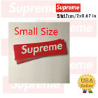 Supreme Box Logo Red Sticker Small Size Vinyl Decal Skateboard NYC Bumper Laptop