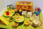 VINTAGE FISHER PRICE LITTLE PEOPLE NURSERY SCHOOL HOUSE COMPLETE BUT NO BOX