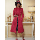 Blakely Hat or Jacket Dress Ashro Black Red Formal Dinner Church Party Wedding