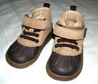 Stride Rite SRT Digsby Boot Boys 4M 5M Toddler Shoes 4 5 Medium Brown NEW