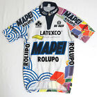 vtg Bio Racer MAPEI ROLUPO 1998 TEAM Cycling Jersey M Colnago Latexco 90s bike
