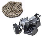 47cc 49cc 2 Stroke Engine Motor + 25H 136 Link Chain Mini Pocket Bike Scooter