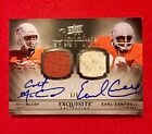 2010 Exquisite Earl Campbell Colt McCoy Dual Auto Jersey Patch #01 05 Very Rare