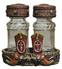 Salt  Pepper Caddy Set with Cowboy Boots Motif by western moments