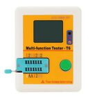 LCR-T6 Multi-functional Tester T6 Transistor Tester LCD Diode Triode MOSFET NPN