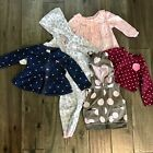 Girls lot of 5 Carters 12 month sweaters vest long Sleeve