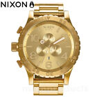 NEW NIXON The 51-30 Chrono Gold-Tone Stainless Steel Men's Watch - A083502