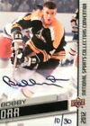 2012 national sports collectors convention bobby orr bruins autograph auto 10 30