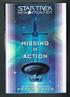 Star Trek New Frontier Missing in Action by Peter David 2006 Hardcover SIGNED