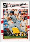 2017 Panini Donruss #191.2 Variation Wade Boggs (Chicken Man 368 BA 1985) Card