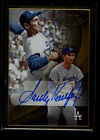 2016 Topps Gold Label SANDY KOUFAX Gold Frame Auto Autograph