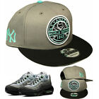 New Era New York Yankees Classic Snapback Hat Match Air Max 95 Fresh Mint Cap