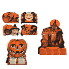 Beistle Halloween Fortune Game bundle with Cutouts 3 items