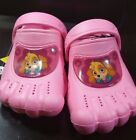 PAW PATROL TODDLER SIZE SMALL 5 6 ACTIVITY CLOGS SKY NICKELODEON CROC STYLE