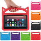 Kids ShockProof EVA Handle Stand Case Cover For Amazon Kindle Frie 2017/2015