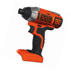 BLACK+DECKER 18 V Lithium-Ion Impact Driver Bare Unit (Battery not Included)