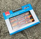 Hilka Pro Craft 8pc VDE Eclectricans Screwdriver Set - Insulated - Mains Tester