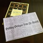 Two Quilting Books Quilts by J Wentworth  Quilting Designs from The Amish